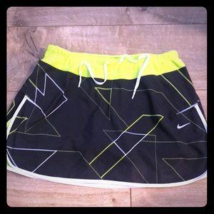 Nike dri fit athletic skirt